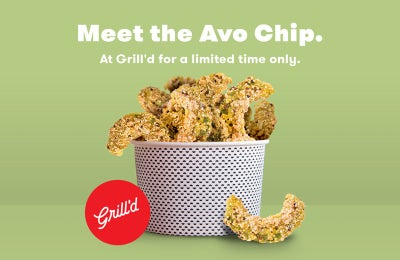 There's a new chip on the block at Grill'd