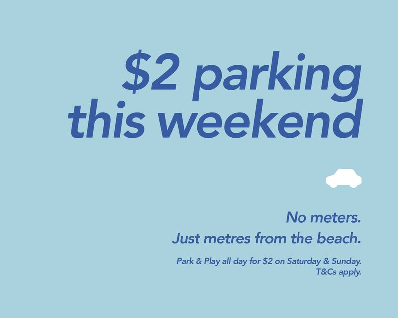 $2 Weekend Parking