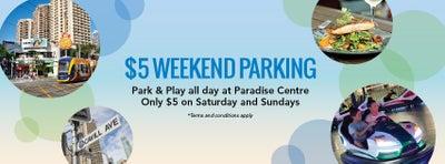 $5 Weekend Parking