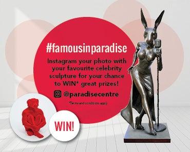 #famousinparadise