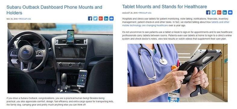 Interior Proclip Subaru Blog