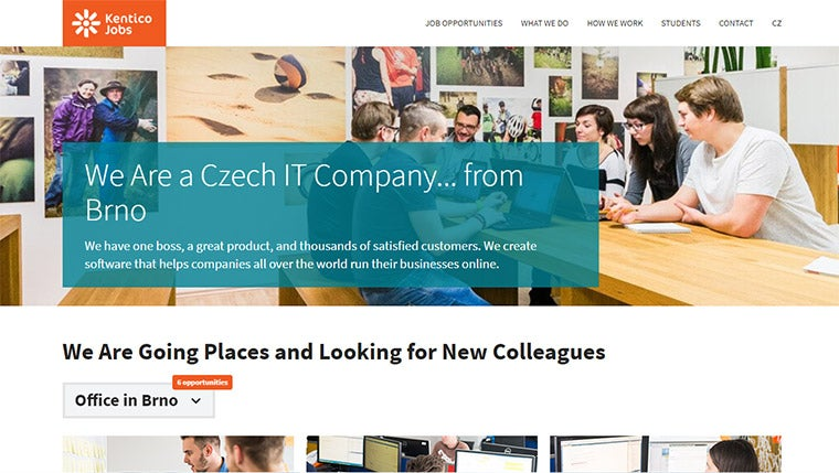 Jobs Portal for Kentico Software