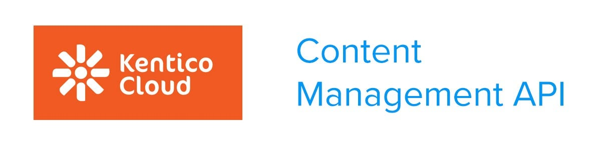 Create content item with Kentico Cloud Content Management API