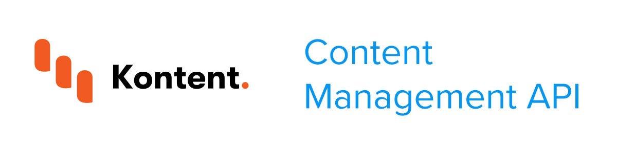 Create content item with Kentico Kontent Content Management API