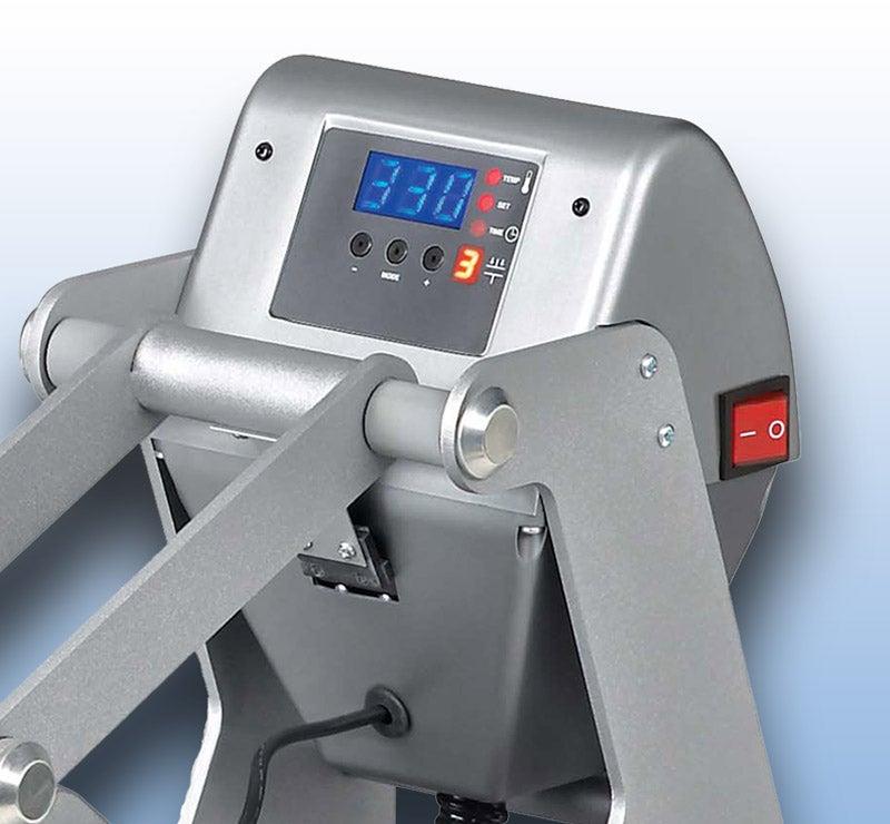 Hotronix Auto Open Clam heat press controls