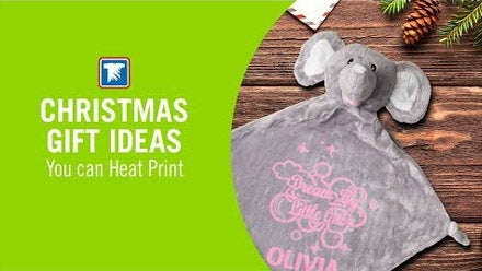 Christmas gift ideas you can heat print
