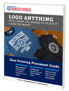 logo placement guide for heat printers