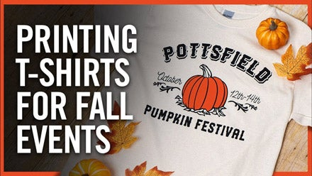 print t-shirts for fall festivals
