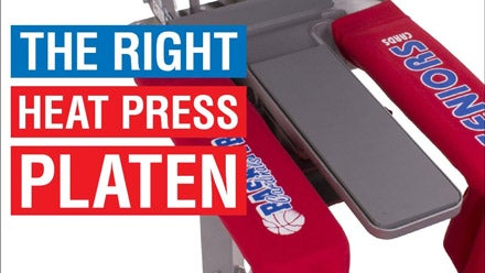 webinar on the right heat press platen