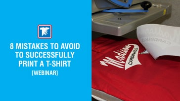 8 mistakes to avoid to print a t-shirt