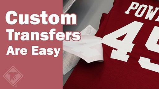 custom transfers are easy