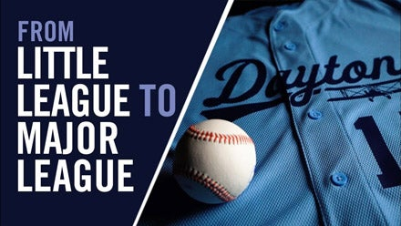 Baseball uniforms from little league to the big leagues