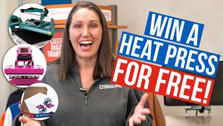 design contest win a heat press