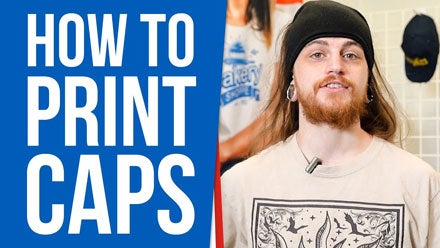 how to print caps video