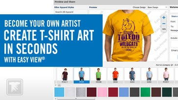 become your own t-shirt artist in seconds