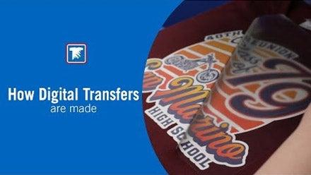 how digital transfers are made