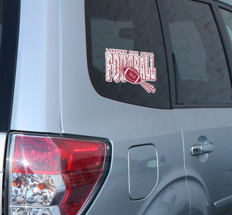 custom window decal