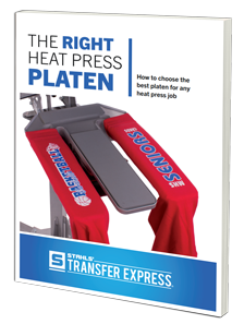 The Right Heat Press Platen Ebook