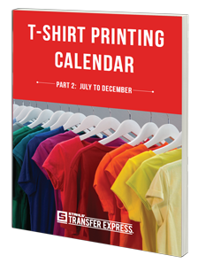 T-Shirt Printing Calendar Part 2