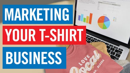 how to market your t-shirt business online
