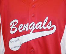 split front baseball jersey