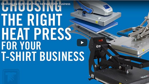 choosing the right heat press for your t-shirt business
