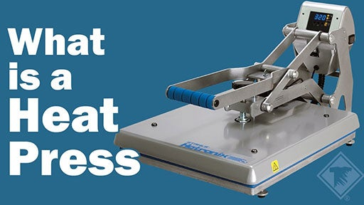 what is a heat press