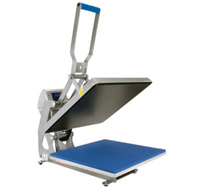 clam style heat press