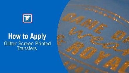 glitter application instructions