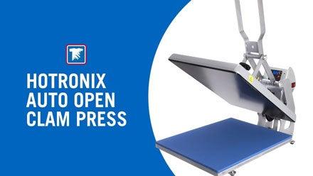 Hotronix Auto Open Clam Heat Press