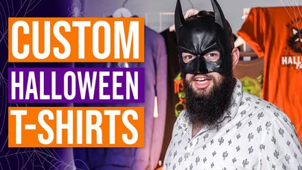 custom Halloween t-shirts video