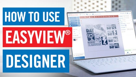 learn how to use Easy View designer for t-shirts