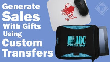 generate sales with gifts using custom transfers
