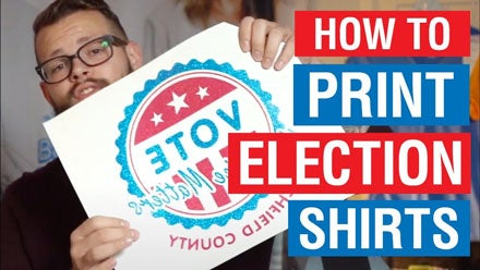how to print election shirts video