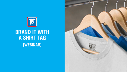 brand your t-shirts with shirt tags