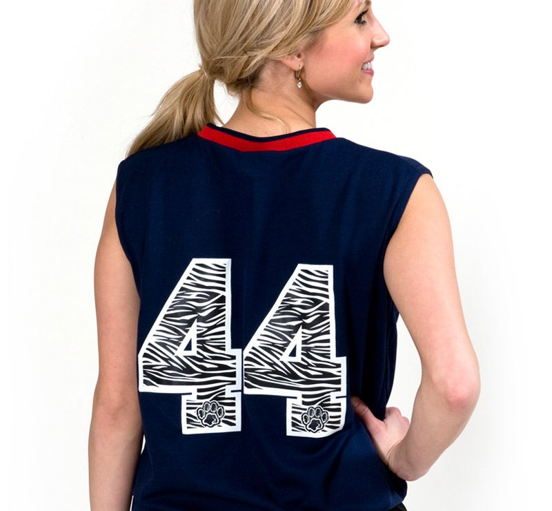 custom screen printed numbers