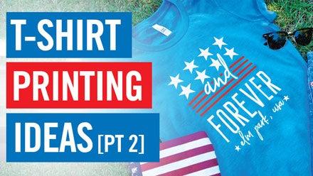 t-shirt printing ideas webinar