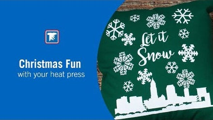 Christmas ideas for your heat press