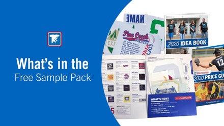 free transfer sample pack