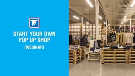 Start your own pop up shop webinar