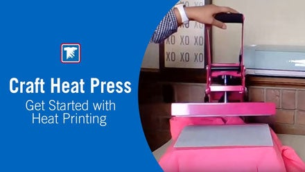 get started with a craft heat press