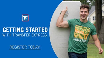 getting started with Transfer Express