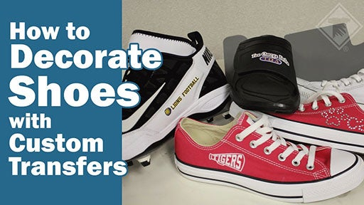how to decorate shoes