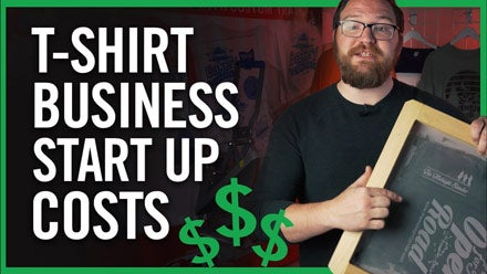 how much does it cost to start a t-shirt business?