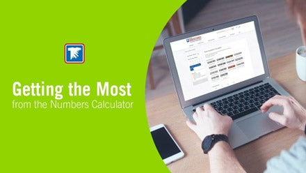 using the numbers calculator for screen printed transfer numbers