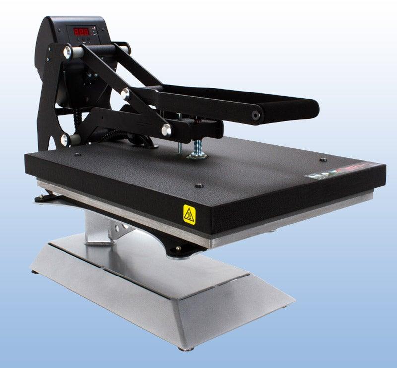 Heat press on Counter Caddie stand