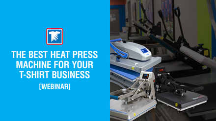 the best heat press machine for your t-shirt business