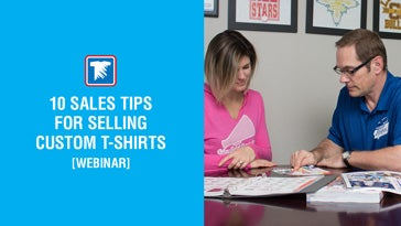10 sales tips for selling custom t-shirts