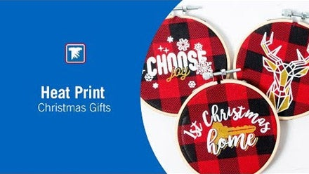 heat print Christmas gifts