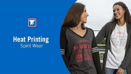 heat printing spirit wear